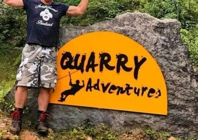 The Quarry Adventures, Coorg, India